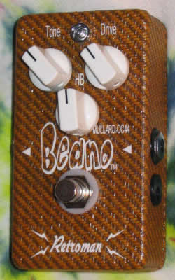 LACQUERED TWEED BEANO